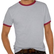 Vladimir Poutine sur le rouge T-shirt