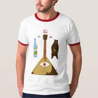 Vodka, balalaïka et ours t-shirt