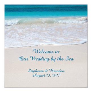 Voeux côtiers épousant par le programme de mer