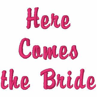 Voici venir la jeune mariée