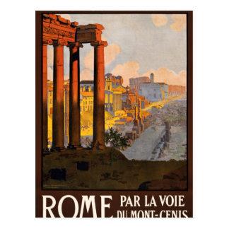 Voie du Mont-Cenis de La de pair de Rome Carte Postale