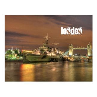 voie HMP Belfast en carte postale de Londres