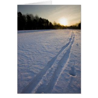 Voies de ski à la conserve de ferme de Willowbrook Cartes