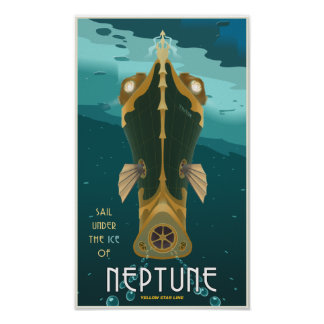 Voile Neptune Posters