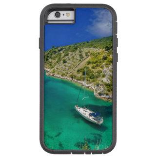 Voilier dans l'océan de vert vert coque tough xtreme iPhone 6