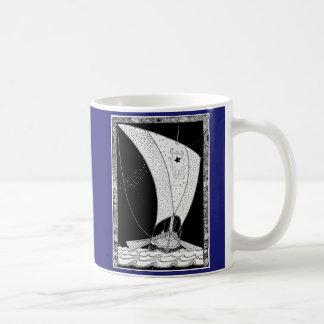 Voilier de drakkar de Viking Mug