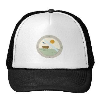 Voilier de hublot casquette