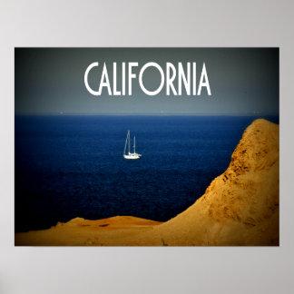 Voilier de la Californie Posters