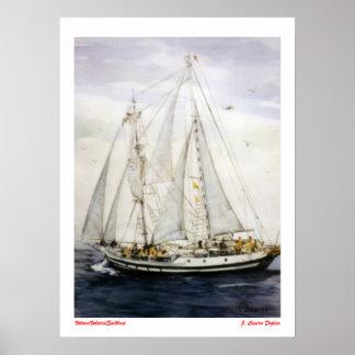 Voilier/Veleiro/Sailboat Affiches