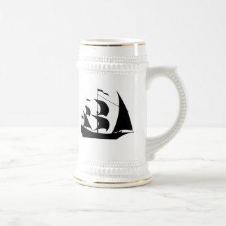 Voilier vintage mugs
