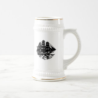 Voilier vintage tasse