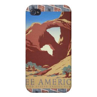 Voir l Amérique II Coque iPhone 4/4S