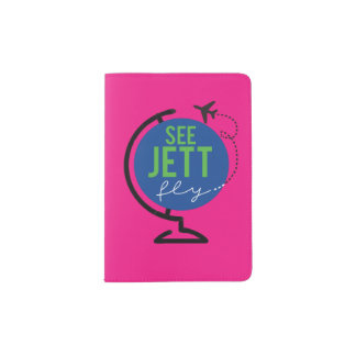 Voir la mouche de Jett - couverture de passeport Protège-passeports