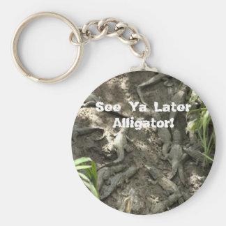 Voir le plus défunt alligator de Ya ! Porte-clé Rond