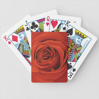 Voir les cartes de jeu rouges jeu de cartes
