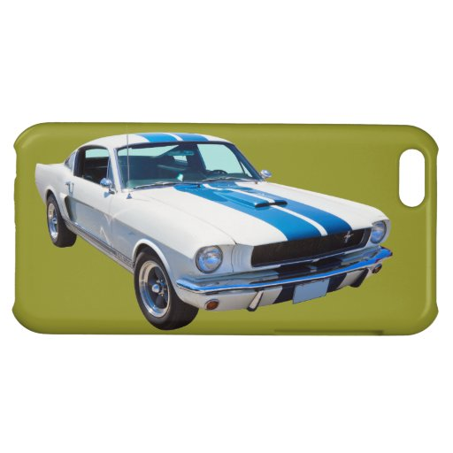 Voiture 1965 de muscle de mustang du GT Coques iPhone 5C