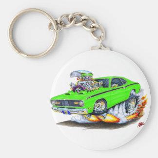 Voiture 1970-74 de chaux de chiffon de Plymouth Porte-clés