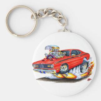 Voiture 1970-74 de rouge de chiffon de Plymouth Porte-clés