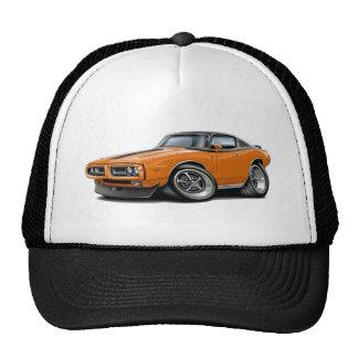 Voiture 1971-72 supérieure Orange-Noire de Casquettes De Camionneur