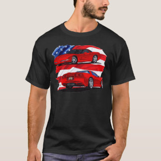Voiture 1999-04 de rouge de Corvette T-shirt