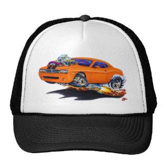 Voiture 2008-10 d'orange de challengeur casquette trucker