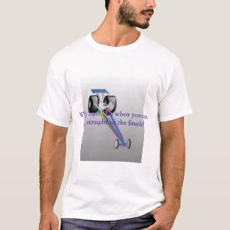 Voiture à moteur gonflé t-shirt