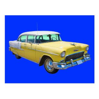 Voiture ancienne 1955 de Bel Air de Chevrolet Cartes Postales