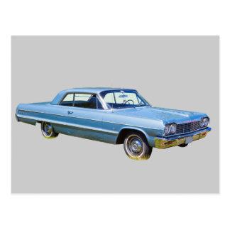 Voiture ancienne 1964 de Chevrolet Impala Cartes Postales