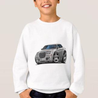 Voiture argentée de Chrysler 300 Sweatshirt