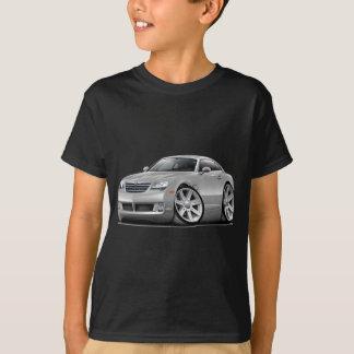 Voiture argentée de courant perturbateur t-shirts