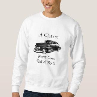 Voiture classique sweatshirt