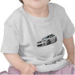 Voiture de blanc de Pontiac G8 GXP T-shirt
