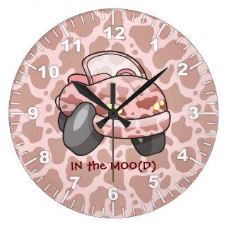 Voiture de MOO Grande Horloge Ronde