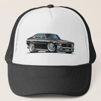 Voiture de noir de nova de Chevy Casquette