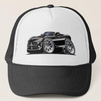 Voiture de noir de roadster de vipère de Dodge Casquette