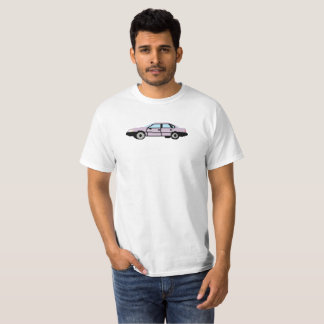 Voiture de pixel t-shirt