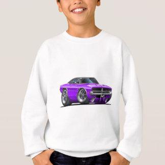 Voiture de pourpre de chargeur de Dodge Sweatshirt