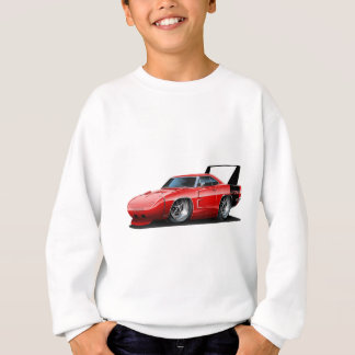 Voiture de rouge de Dodge Daytona Sweatshirt
