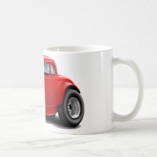 voiture de rouge de hot rod des années 1930 mug blanc