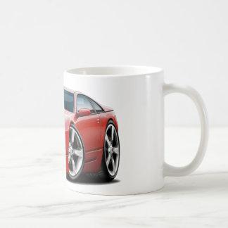Voiture de rouge de Nissan 300ZX Tasse À Café