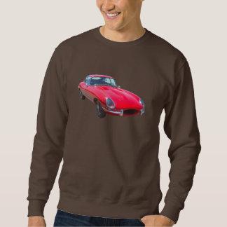 Voiture de sport 1964 antique de Jaguar XKE de Sweatshirt