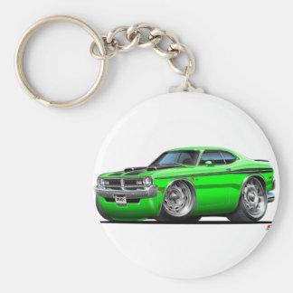 Voiture de vert de démon de Dodge Porte-clés