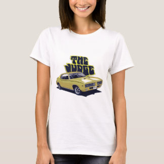 Voiture d'or de juge de 1969 GTO T-shirt