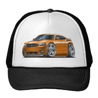 Voiture d'orange de Daytona de chargeur de Dodge Casquette Trucker