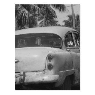 Voiture du Cuba Cartes Postales