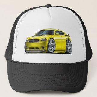 Voiture jaune de Daytona de chargeur de Dodge Casquette