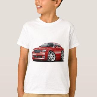 Voiture marron de courant perturbateur t-shirts