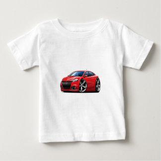 Voiture Rouge-Noire de gril de dard de Dodge T-shirt Pour Bébé