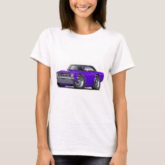 Voiture supérieure Pourpre-Noire de 1969 dards T-shirt
