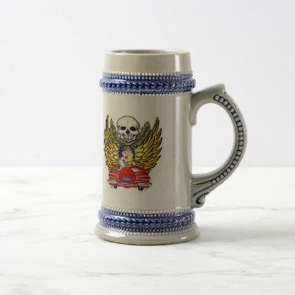 Voiture vintage de muscle mug à café
